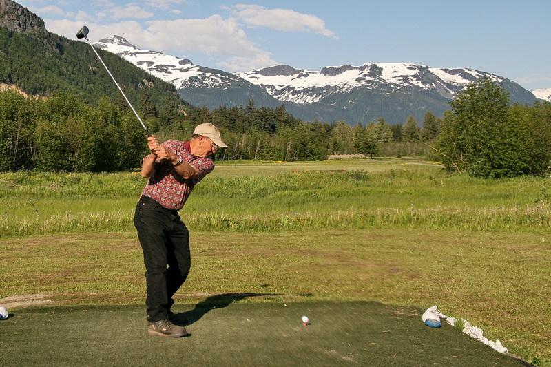 Golf In Alaska Valley Of The Eagles Golf Links